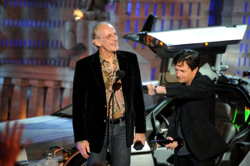 Michael J. Fox And Christopher Lloyd Have 'Back To The Future' Reunion In Another Set Of Wheels