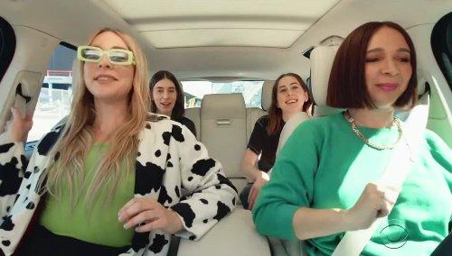 Maya Rudolph And Haim Sing Along To Prince In New 'Carpool Karaoke' Teaser