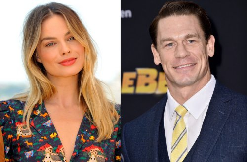 Margot Robbie Admits She Slept With A Life-Size Cardboard Cut-Out Of John Cena In Her Room For Two Years