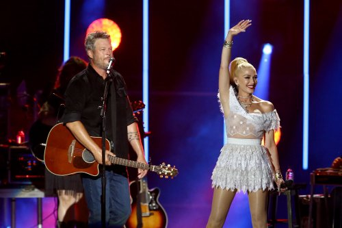 Blake Shelton Introduces Wife 'Gwen Stefani Shelton' During Post-Wedding Performance
