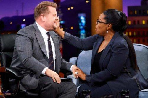 James Corden Pitches Oprah A Genius Business Idea