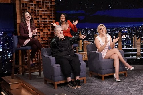 The Cast Of 'Girls5eva' Sing The Spice Girls' 'Wannabe' With Jimmy Fallon And The Roots