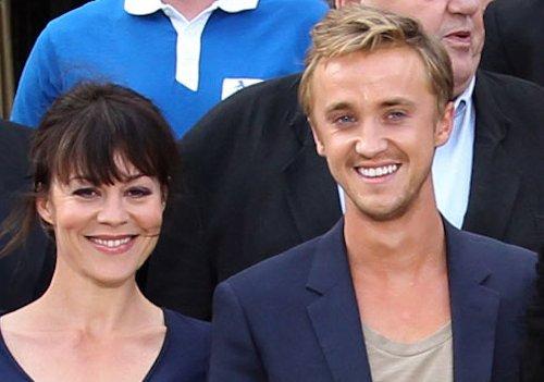 Tom Felton Honors 'Harry Potter' On-Screen Mom Helen McCrory In Heartbreaking Post