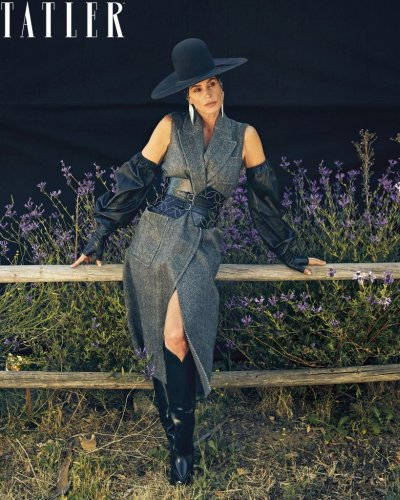 Cindy Crawford Takes The Reins In The September Issue Of 'Tatler'