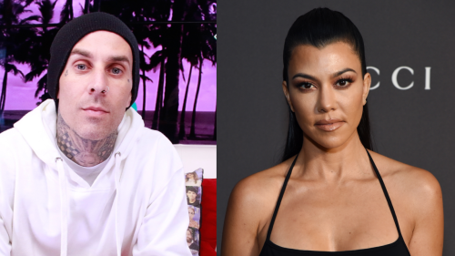 Kourtney Kardashian Makes Out with Travis Barker in PDA Pics