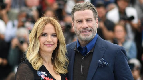 John Travolta Honors Late Wife Kelly Preston on Mother's Day
