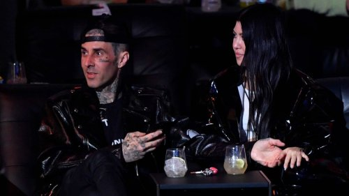 Travis Barker Shares PDA-Filled Birthday Post for Kourtney Kardashian