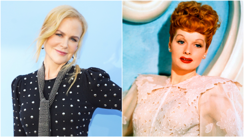 Nicole Kidman Says Playing Lucille Ball Is 'Out of My Comfort Zone'