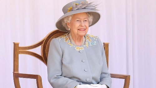 Queen Elizabeth Holds Special Trooping the Colour Ceremony in Windsor
