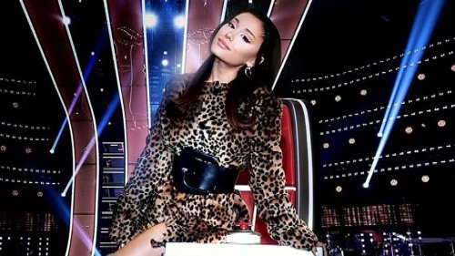 'The Voice' Coaches Welcome Ariana Grande in First Season 21 Promo