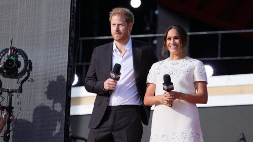 Meghan Markle and Prince Harry Attend Global Citizen Live