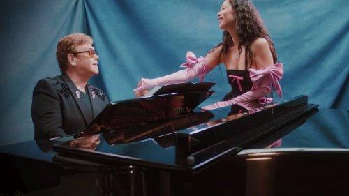 Elton John Joins Rina Sawayama's 'Chosen Family'