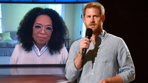 Oprah Explains Why She Thinks Prince Harry Is Fantastic