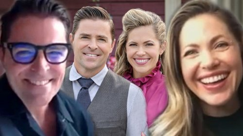Pascale Hutton and Kavan Smith Talk Lee and Rosemary Starting a Family