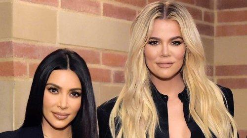 Kim & Khloe Kardashian Talk Their Relationship With Caitlyn Jenner