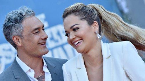 Rita Ora and Taika Waititi Make Their Red Carpet Debut: PICS
