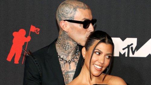 Kourtney Kardashian Shows Instagram vs. Reality With Travis Barker