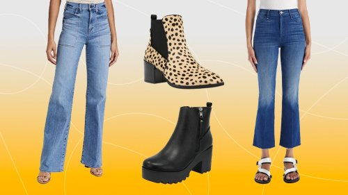 Your Guide to Pairing Jeans with Boots This Fall