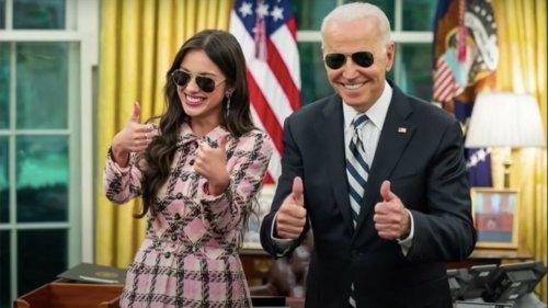 Olivia Rodrigo Shares the Strange Gifts Joe Biden Gave Her
