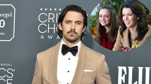 Milo Ventimiglia Has an Unexpected 'Gilmore Girls' Sign in His House