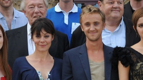 Tom Felton Honors 'Harry Potter' On-Screen Mom Helen McCrory