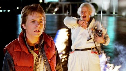 Michael J. Fox and Christopher Lloyd Have 'Back to the Future' Reunion