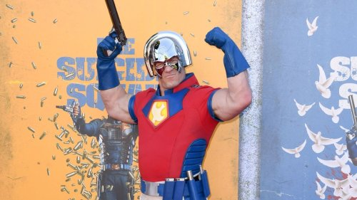 John Cena On Rocking Peacemaker Costume to 'Suicide Squad' Premiere