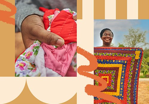 Quilts Full of Culture from the Women of Gee's Bend