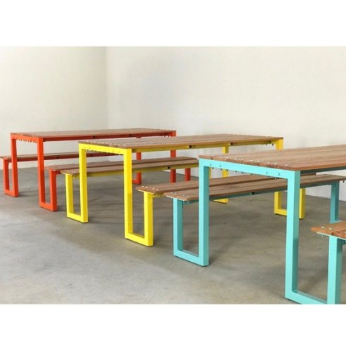 $280 off a handmade outdoor dining table