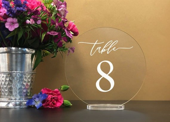 Round table numbers