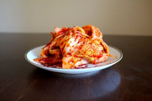 Traditional Korean kimchee