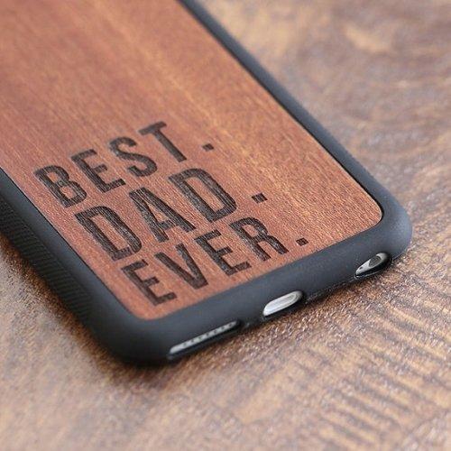 """Best Dad Ever"" phone case"