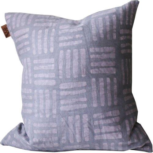 Hash mark throw pillow