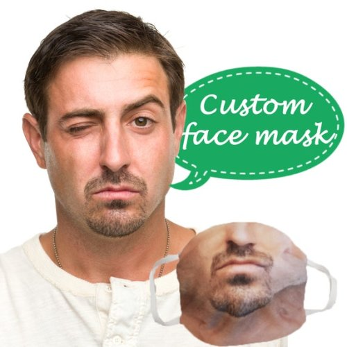 Put your face on a custom mask