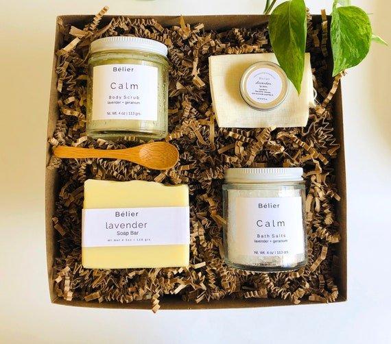 $9 off lavender spa gift set