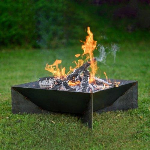 $155 off a modern steel fire pit