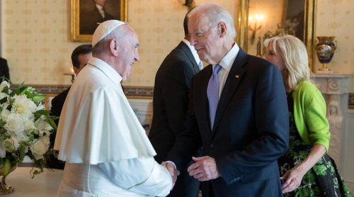 Morning Mass Dropped From June 15 Pope Francis-Biden Meeting
