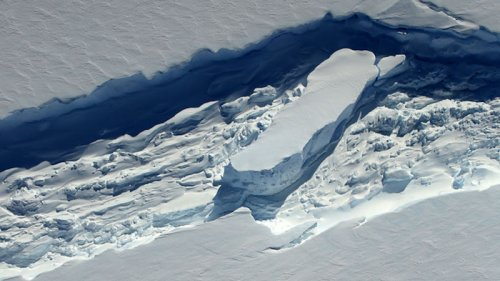 Uncovered Additional Threat To Antarctica's Floating Ice Shelves