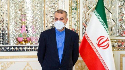 FM Amirabdollahian Insists Iran To Resume JCPOA Talks Soon