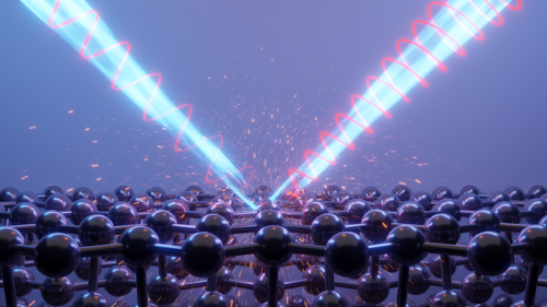 Controlling Light With A Material Three Atoms Thick