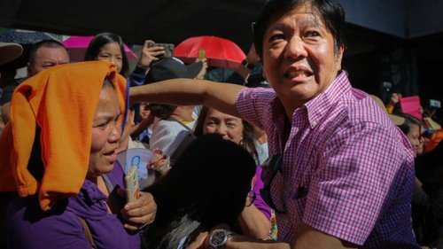 Philippine Party Nominates Son Of Late Dictator Marcos For President