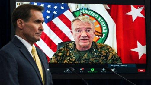 """""""Tragischer Fehler"""": US-General entschuldigt sich für Drohnenschlag in Kabul"""