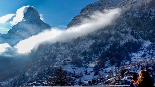 Das ist doch der Gipfel: Spektakuläre Bilder vom Matterhorn