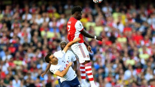 Soccer-Arsenal trounce Tottenham as resurgence continues