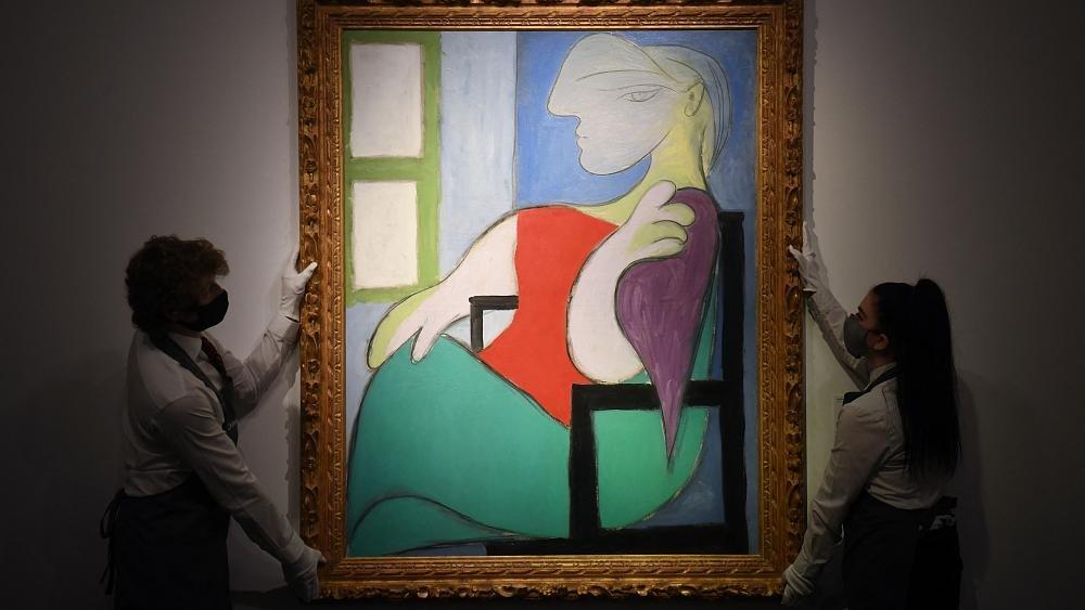 بيع لوحة لبيكاسو بمبلغ 103 ملايين دولار خلال مزاد في نيويورك