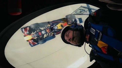 David Coulthard de pernas para o ar
