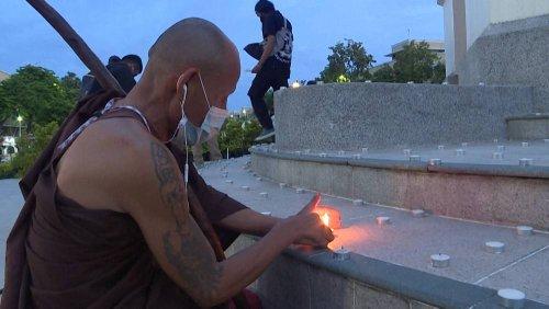 Jahrestag der Revolution: Protest in Thailand