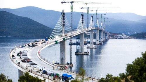 Feierliche Einweihung: Kroatien ist durch Peljesac-Brücke vereint