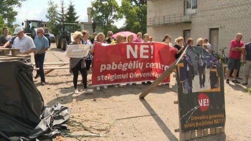 Proteste gegen Migranten in Litauen