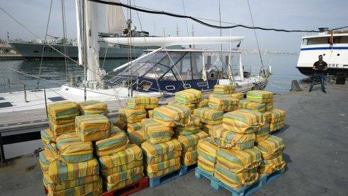 Bei Lissabon: Eine 24-Meter-Jacht, 5 Tonnen Kokain und 3 Festnahmen